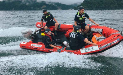 【02】日本初!英国式レスキューボート体験