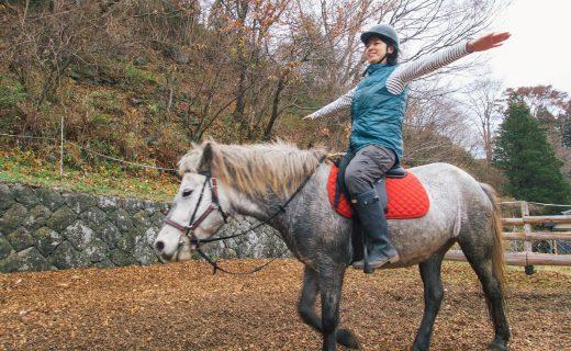 岩手の馬文化を感じながら、リラクゼーション乗馬