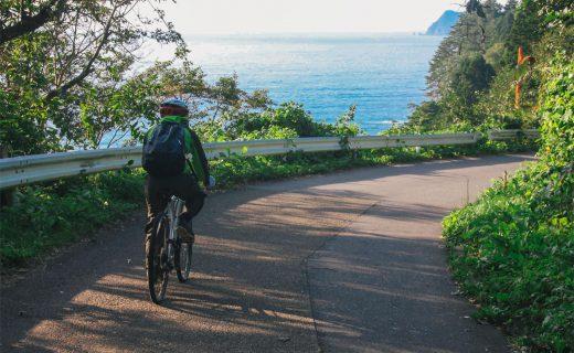 絶景・朝陽のみちのく潮風サイクリング
